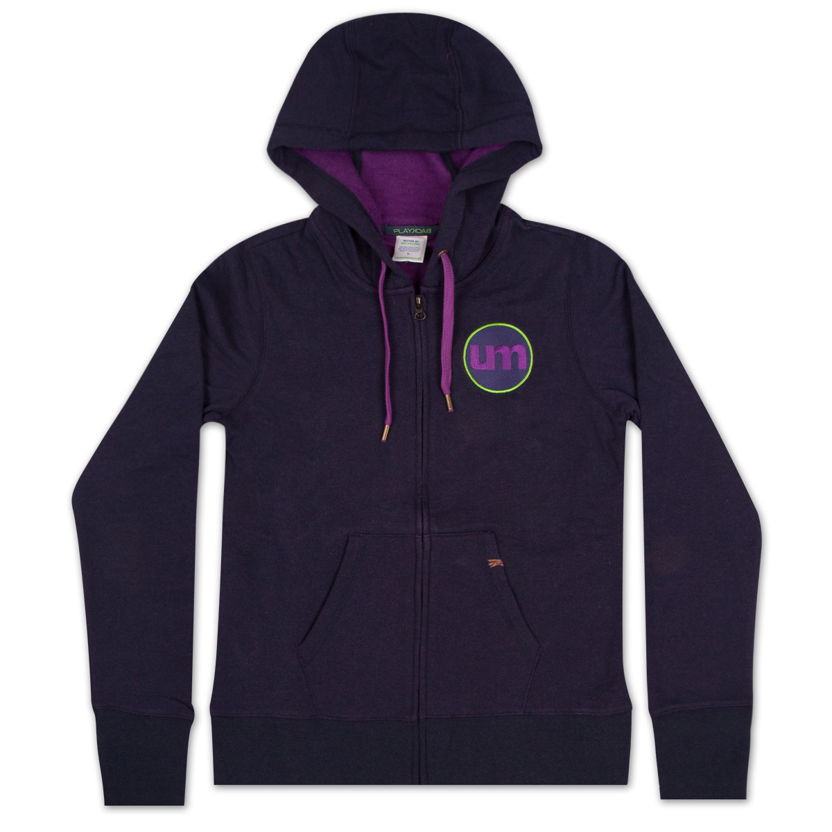 Ladies Playback Zip Hoodie