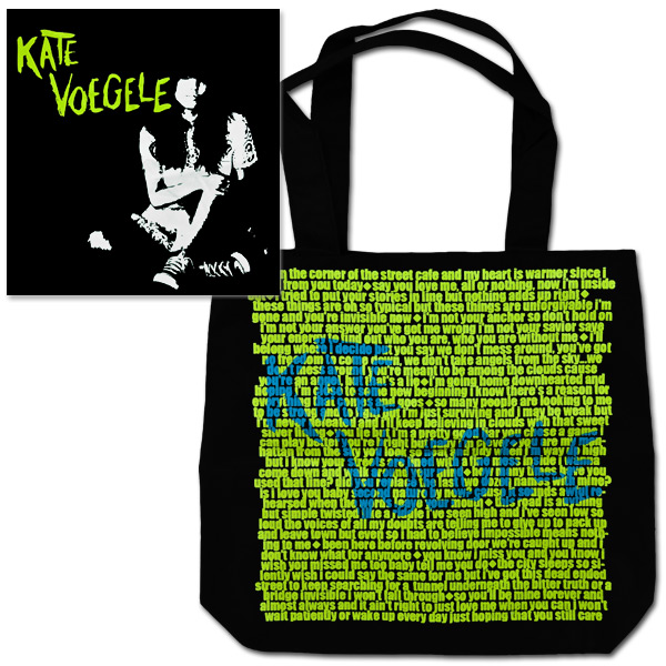 Kate Sitting Lyrics Tote Bag