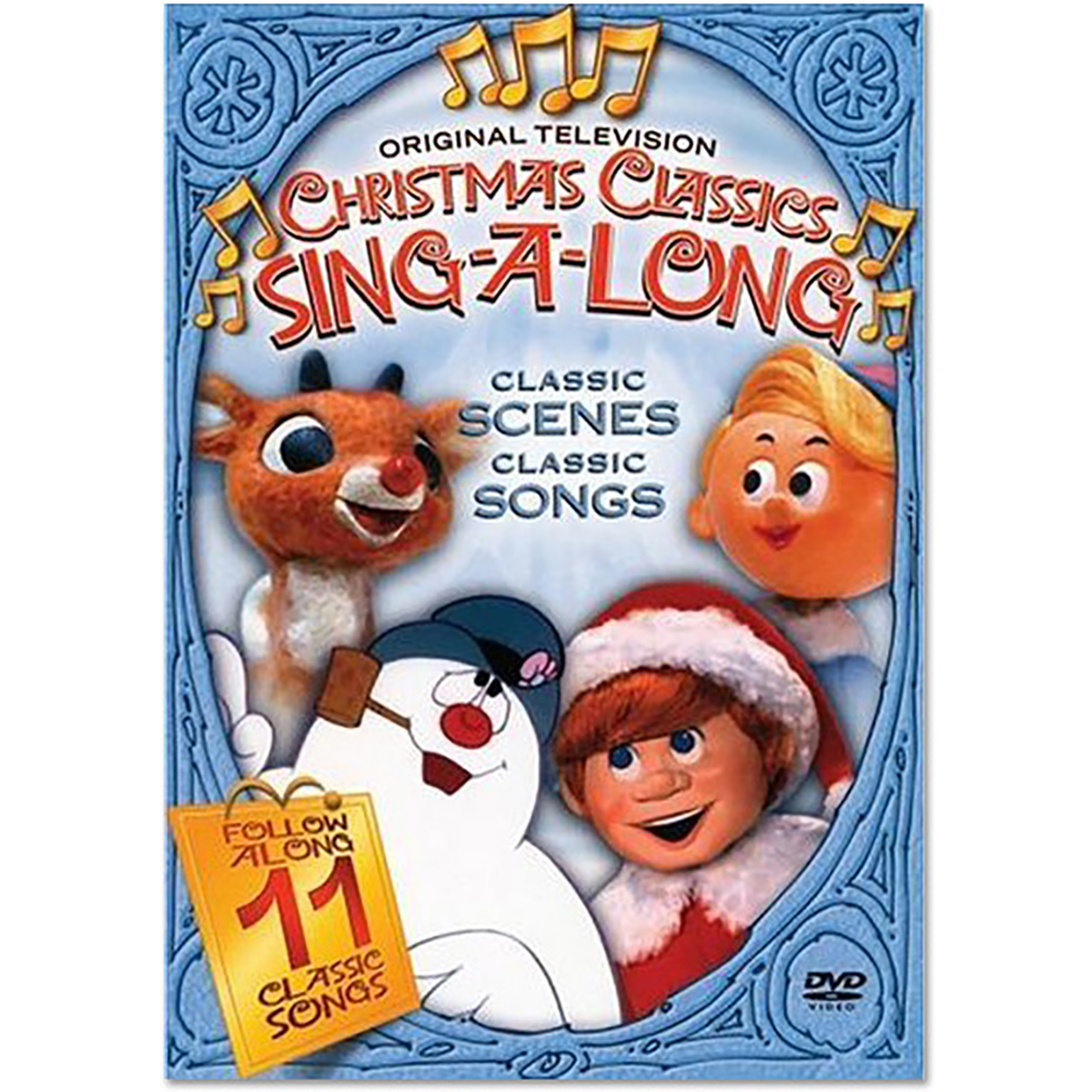 Original Television Classics: Frosty, Rudolph Christmas Sing-A-Long DVD
