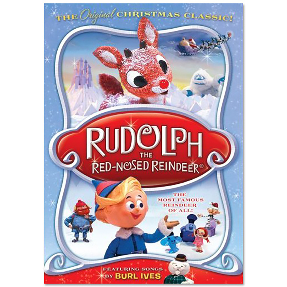 Rudolph The Red Nosed Reindeer Christmas Movie Classic Dvd