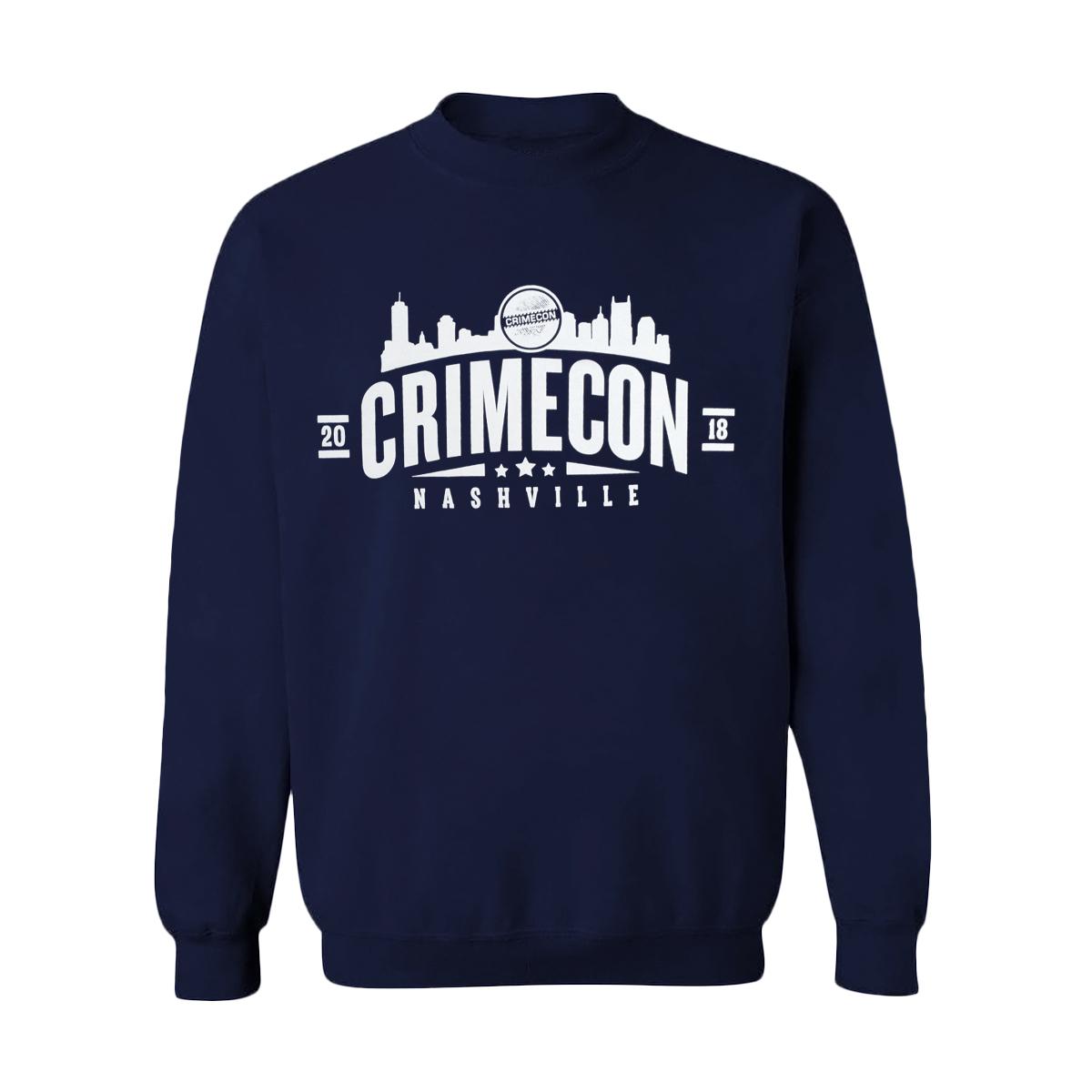CrimeCon Nashville Crewneck Sweatshirt