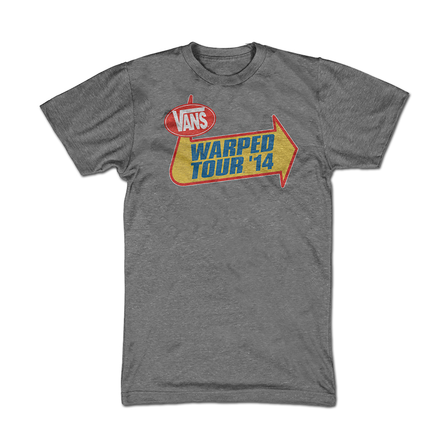 Warped Tour 2014 Men's T-Shirt