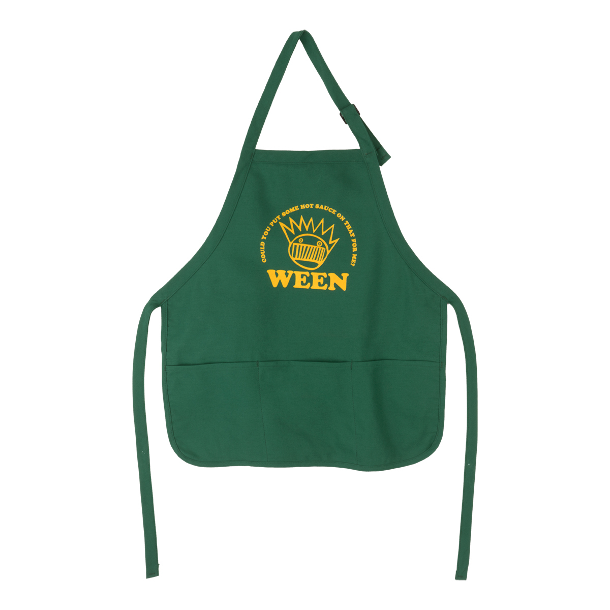 Green Cooking Apron
