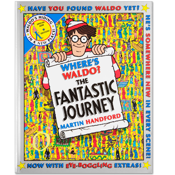 Where's Waldo? The Fantastic Journey Book (Hard Cover)