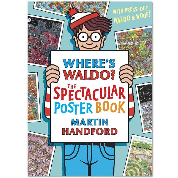 Where's Waldo The Spectacular Poster Book