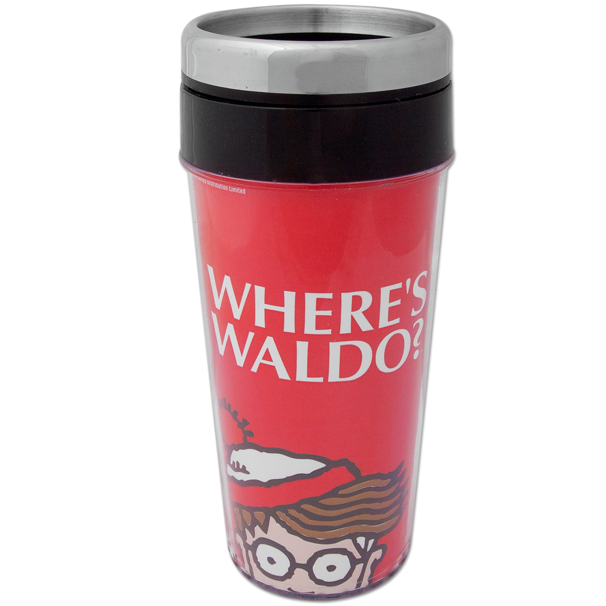 Where's Waldo Peeping Travel Mug