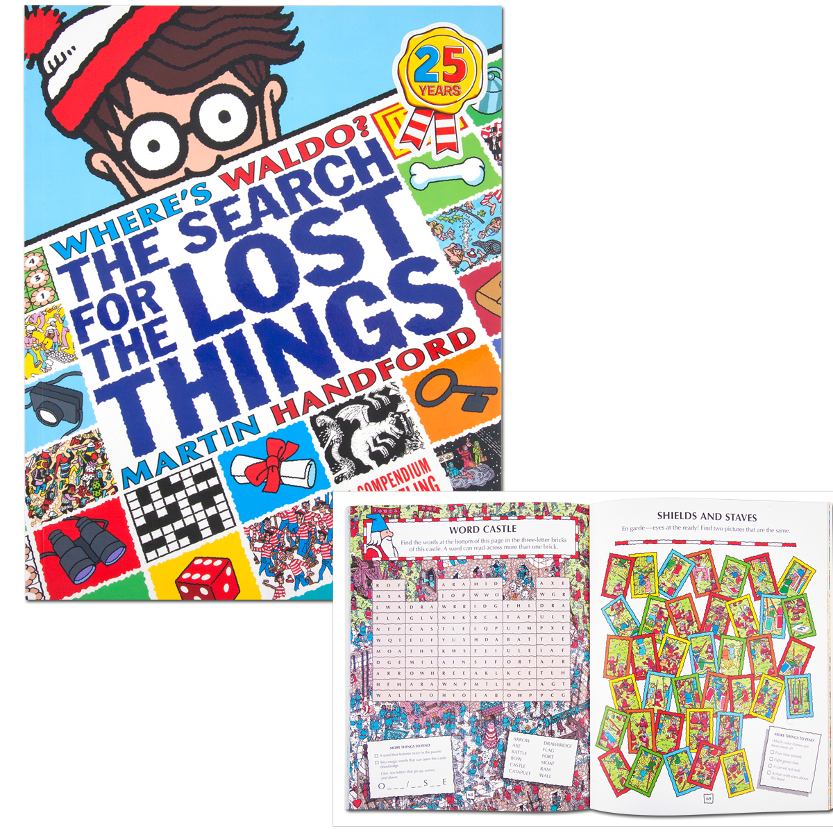 where 39 s waldo the search for the lost things book musictoday superstore. Black Bedroom Furniture Sets. Home Design Ideas