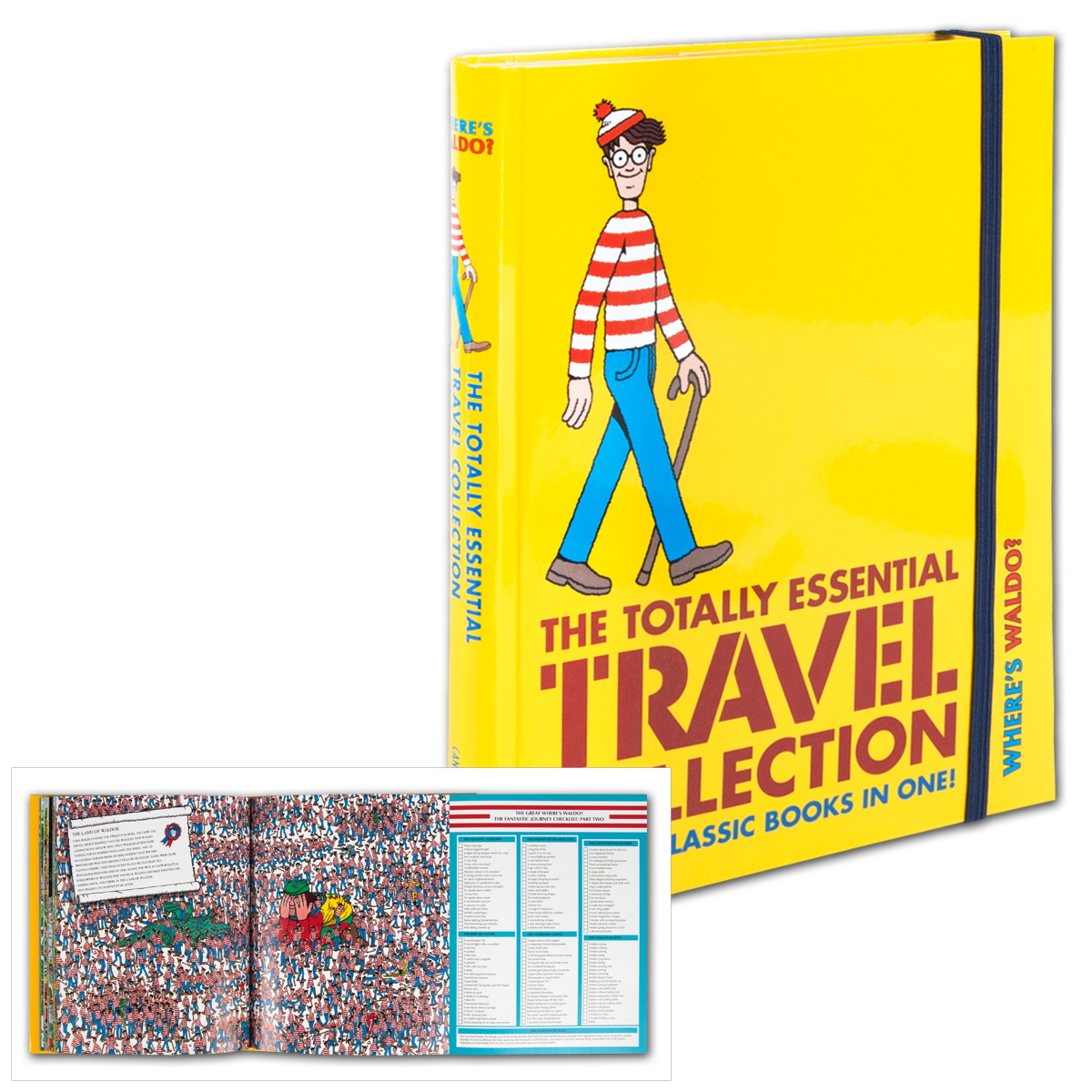 Where's Waldo? The Totally Essential Travel Collection Book