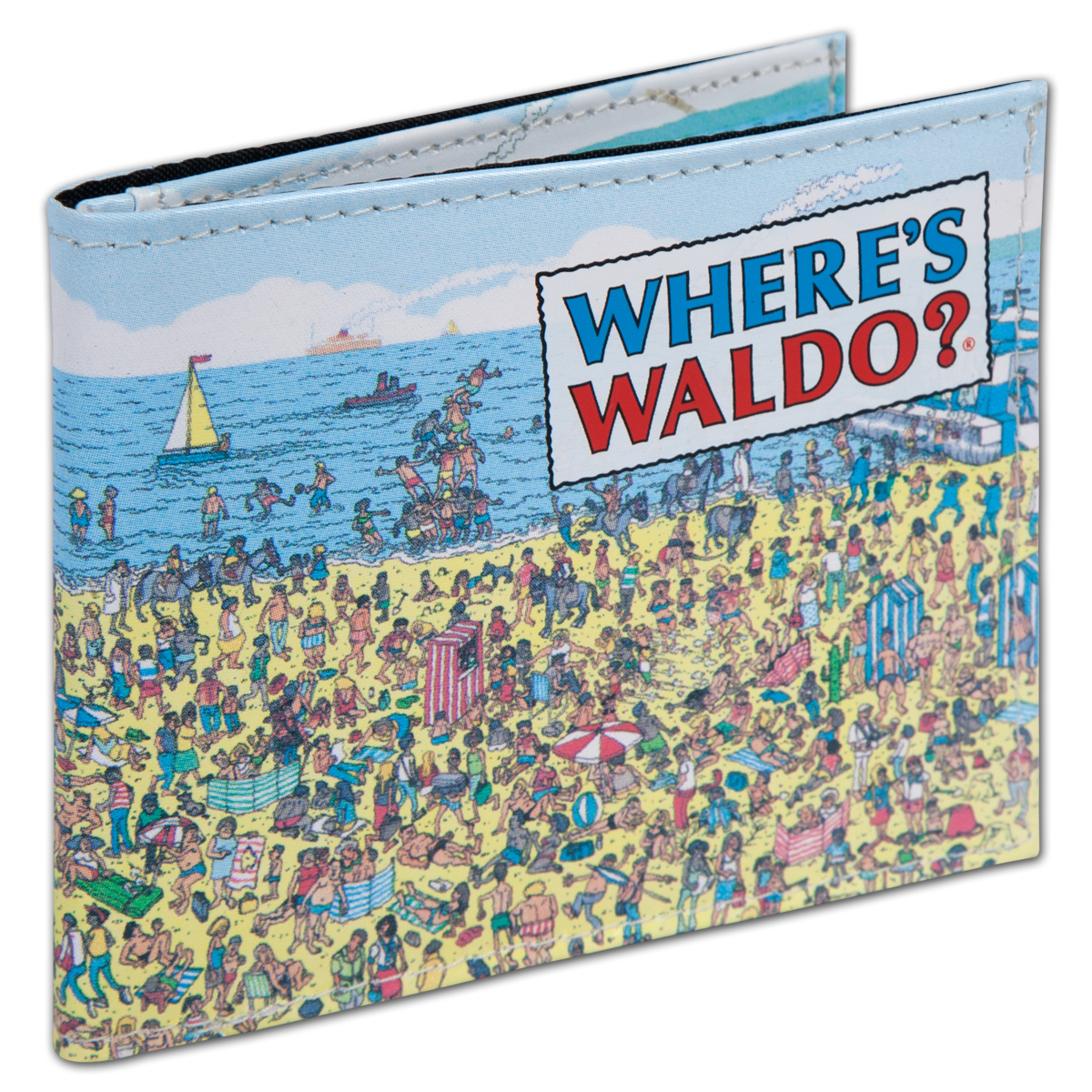 Where's Waldo? Beach Micro Fiber Wallet