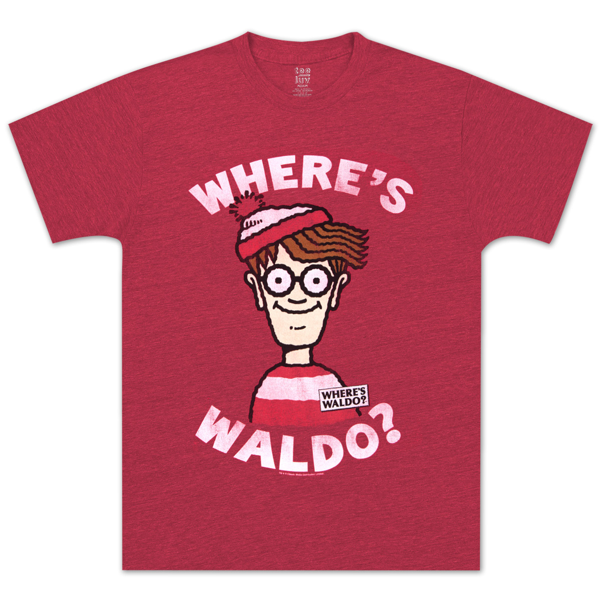 where 39 s waldo head shot t shirt musictoday superstore. Black Bedroom Furniture Sets. Home Design Ideas