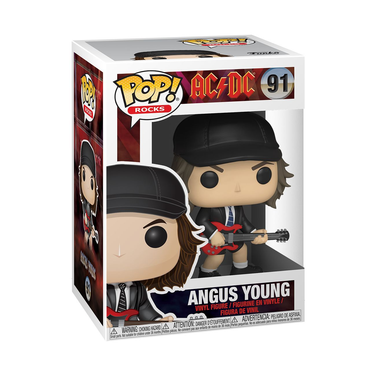 Angus Young Funko Pop! Rocks Vinyl Figure