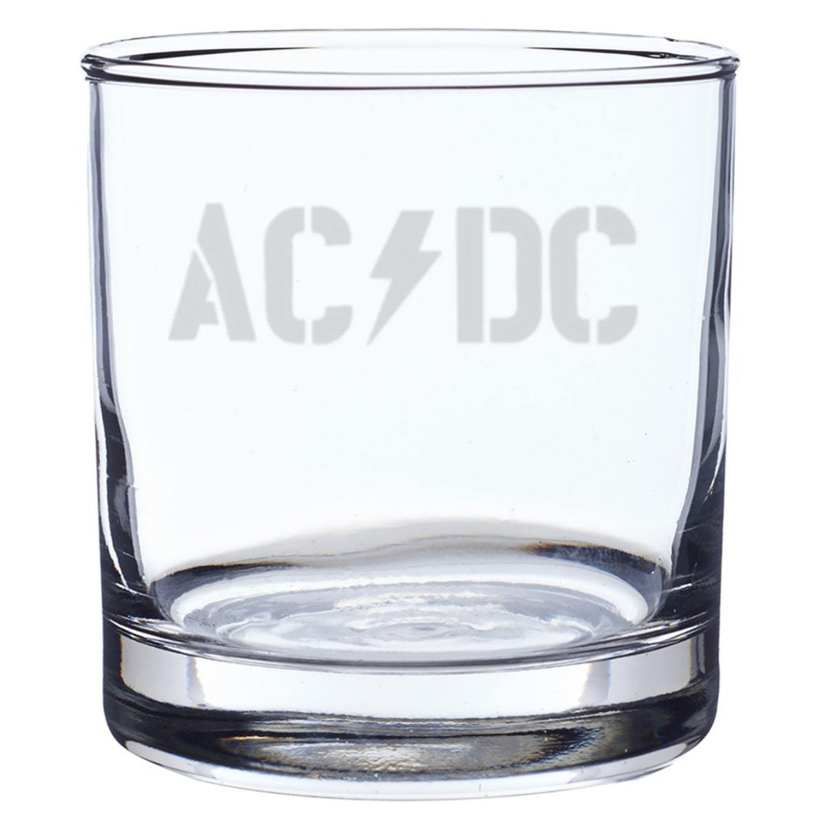 Power Up Logo Laser-Etched Whiskey Glass
