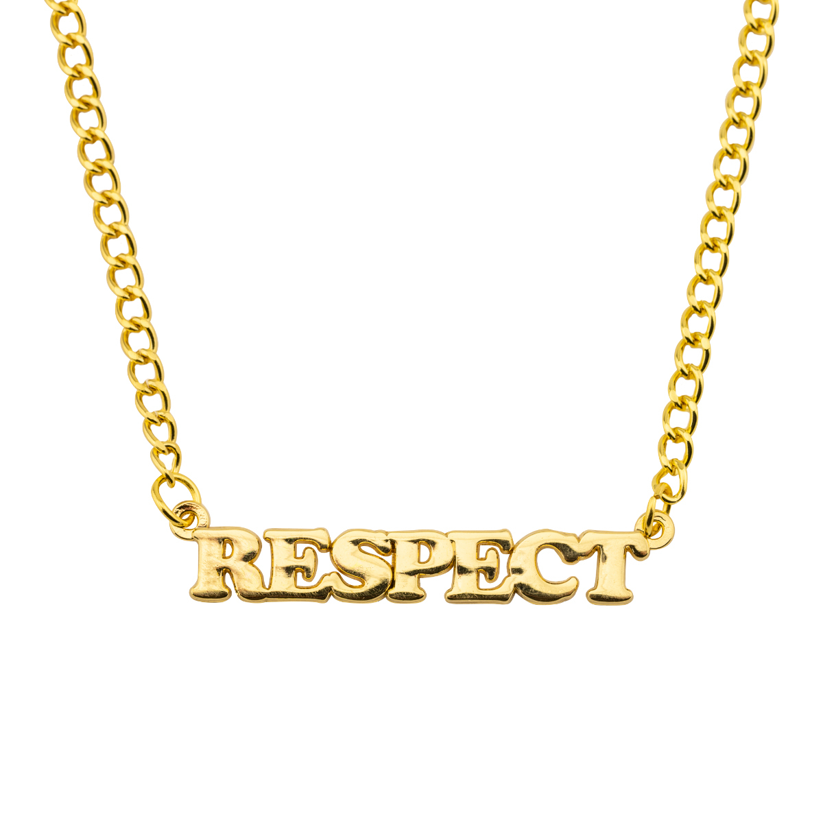 Aretha Franklin RESPECT Necklace