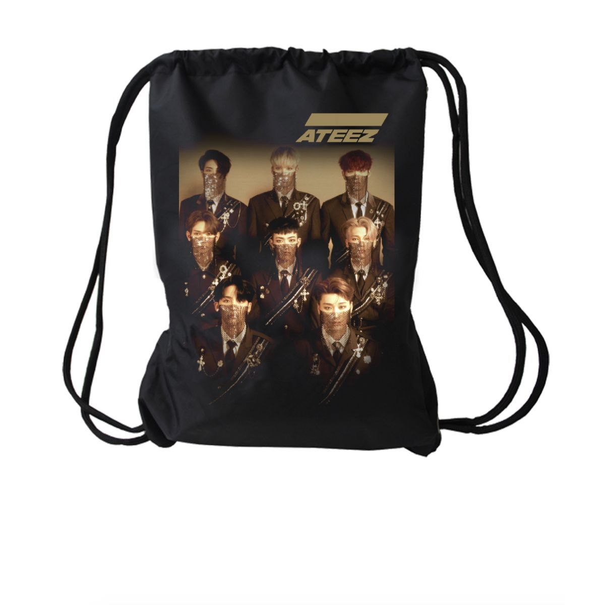 Ateez Drawstring Bag