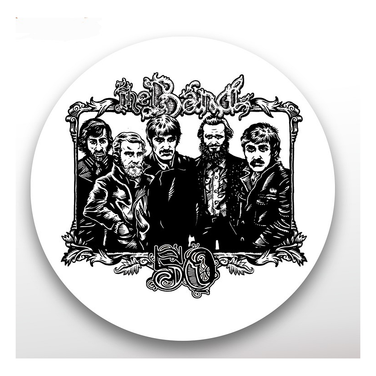 The Band 50th Anniversary Magnet Bottle Opener