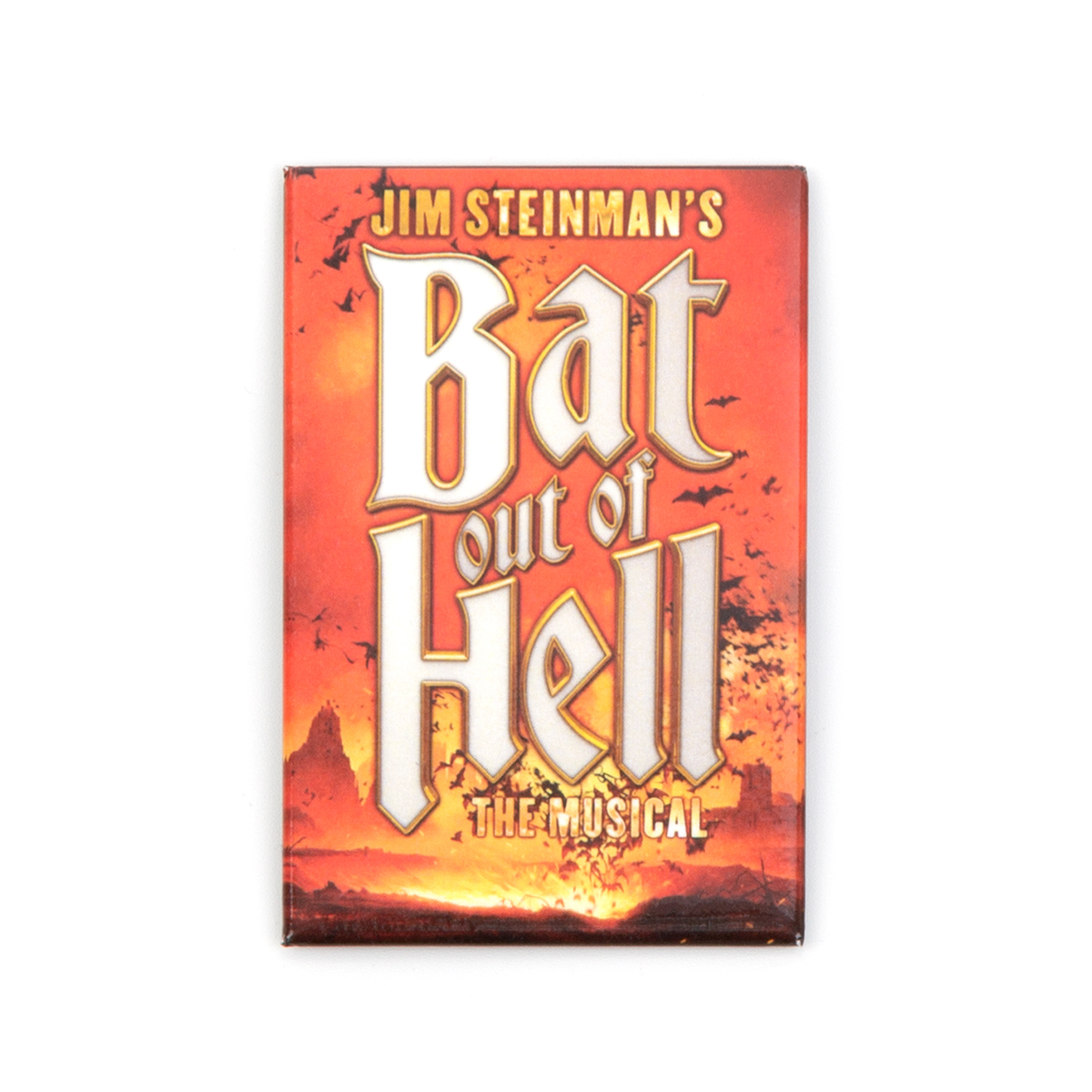 Bat Out Of Hell Fridge Magnet