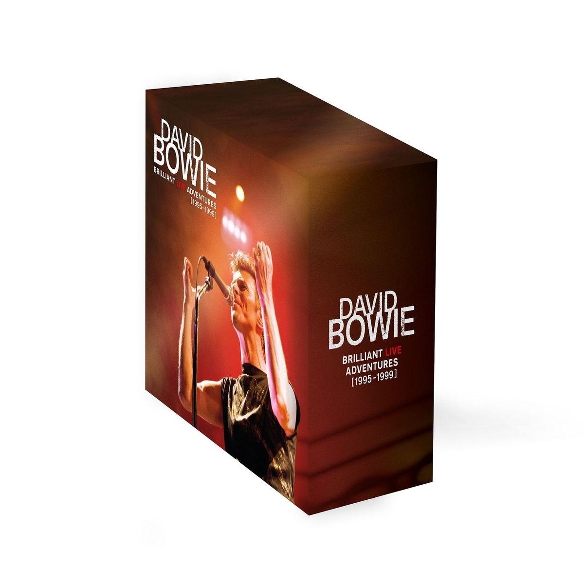 Brilliant Live Adventures CD Slip Case Box