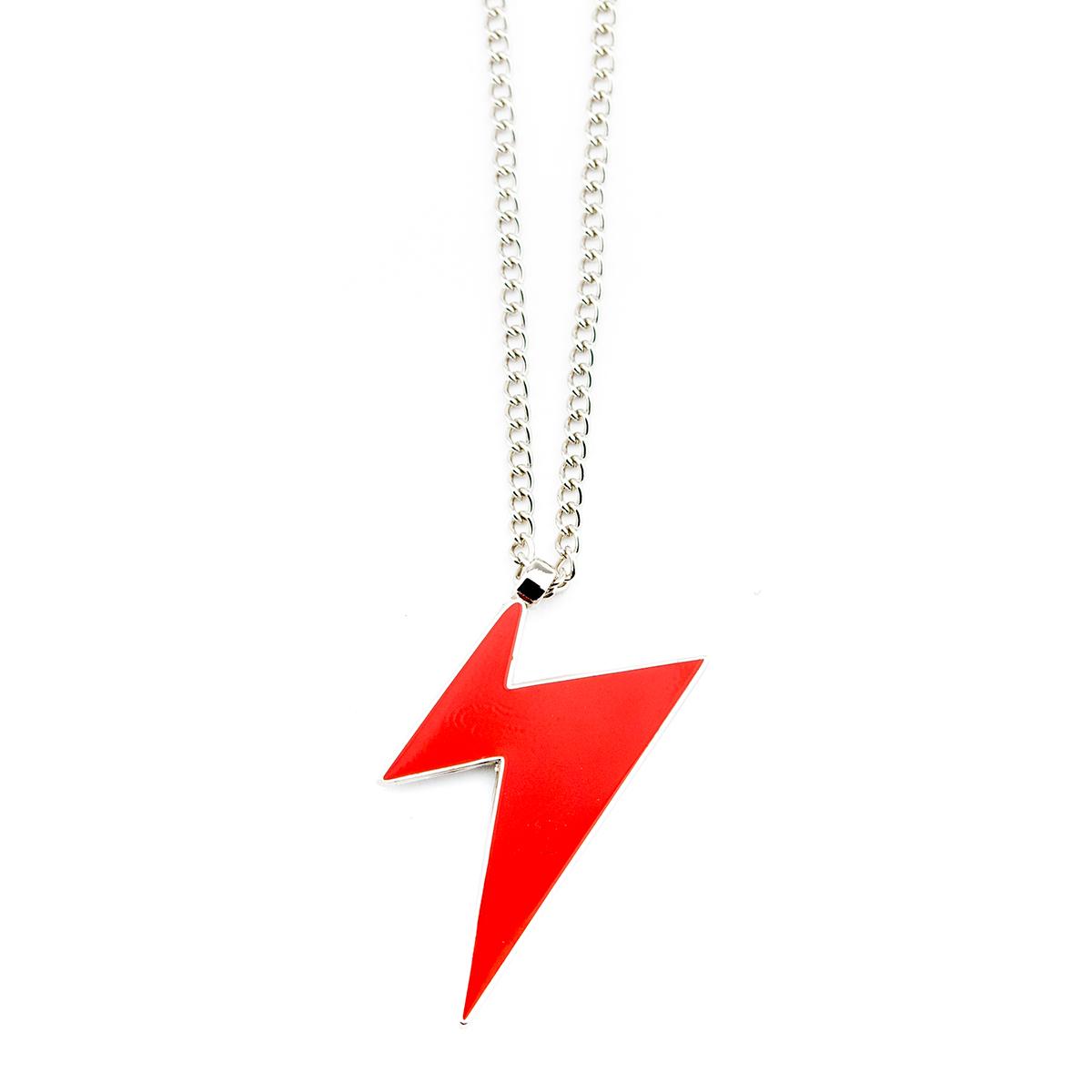 David Bowie Bolt Necklace
