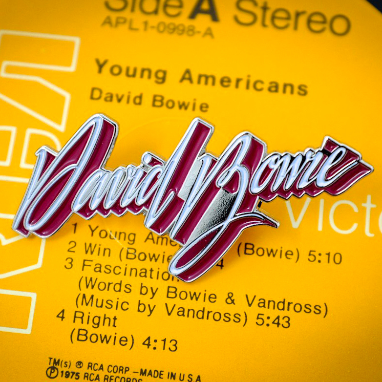 Young Americans' Logo Pin
