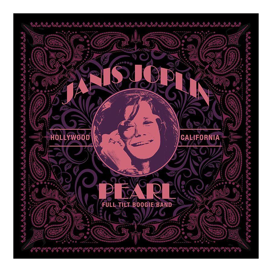 Janis Joplin Pearl Bandana