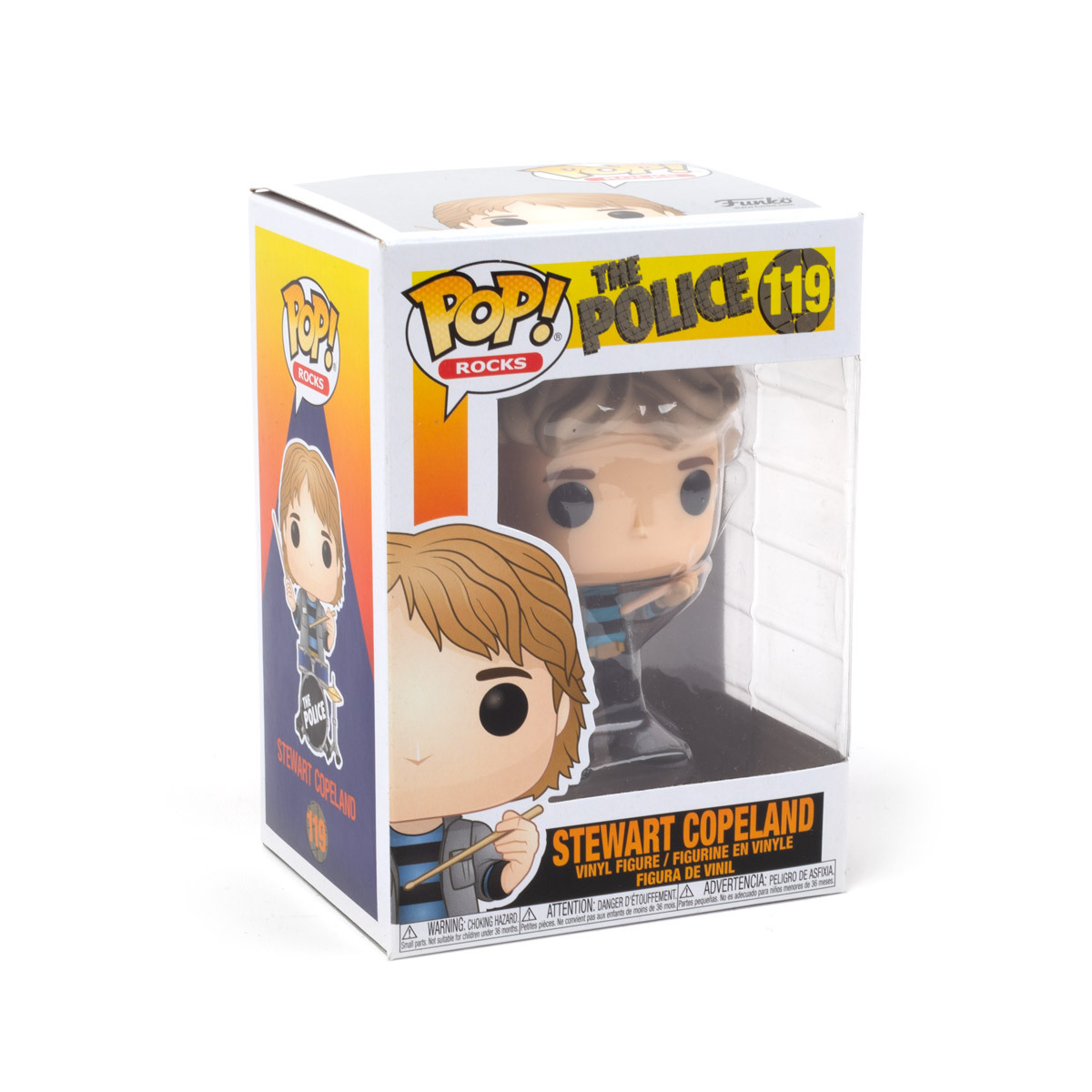 The Police Funko Pop! Rocks Vinyl Figures