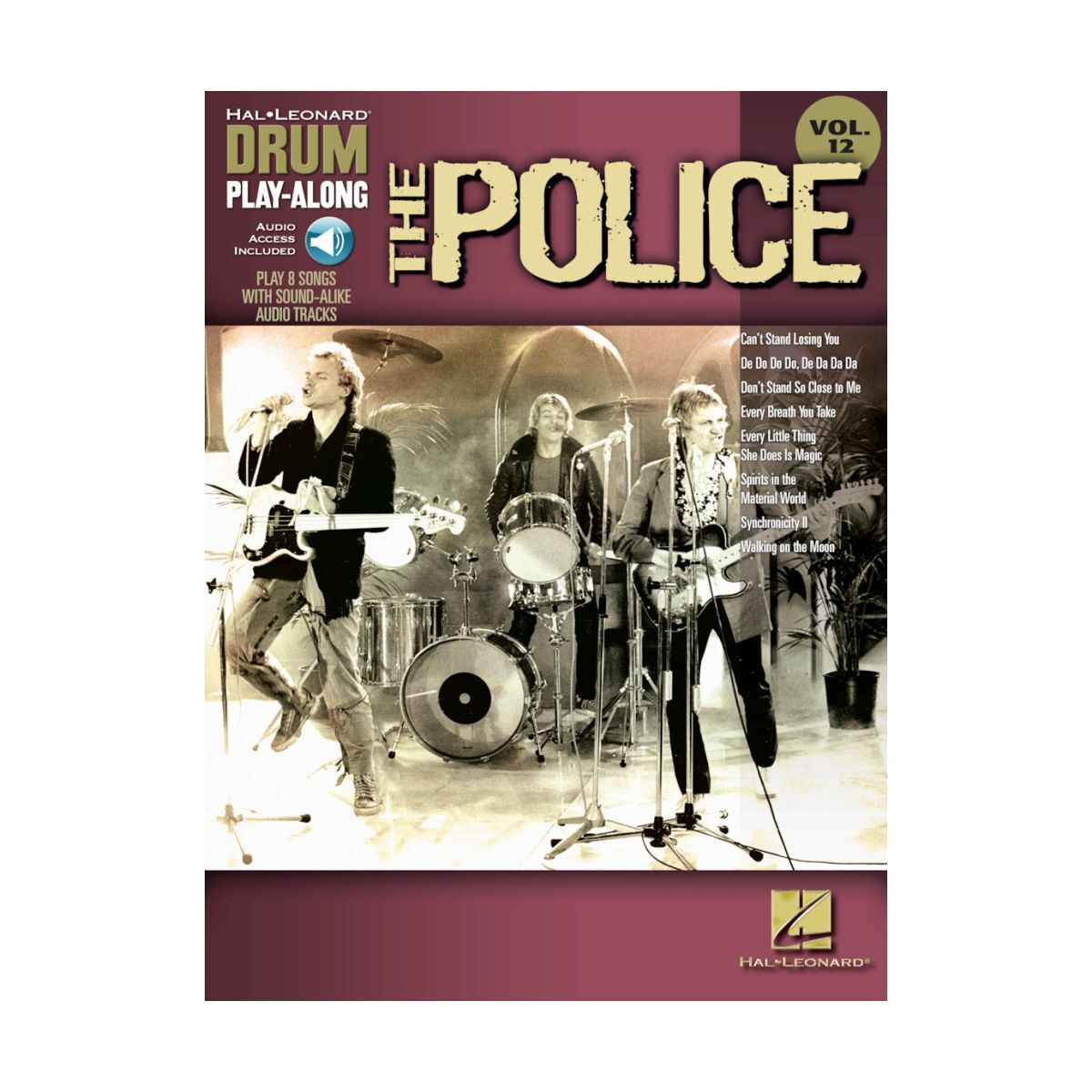 The Police Drum Play-Along