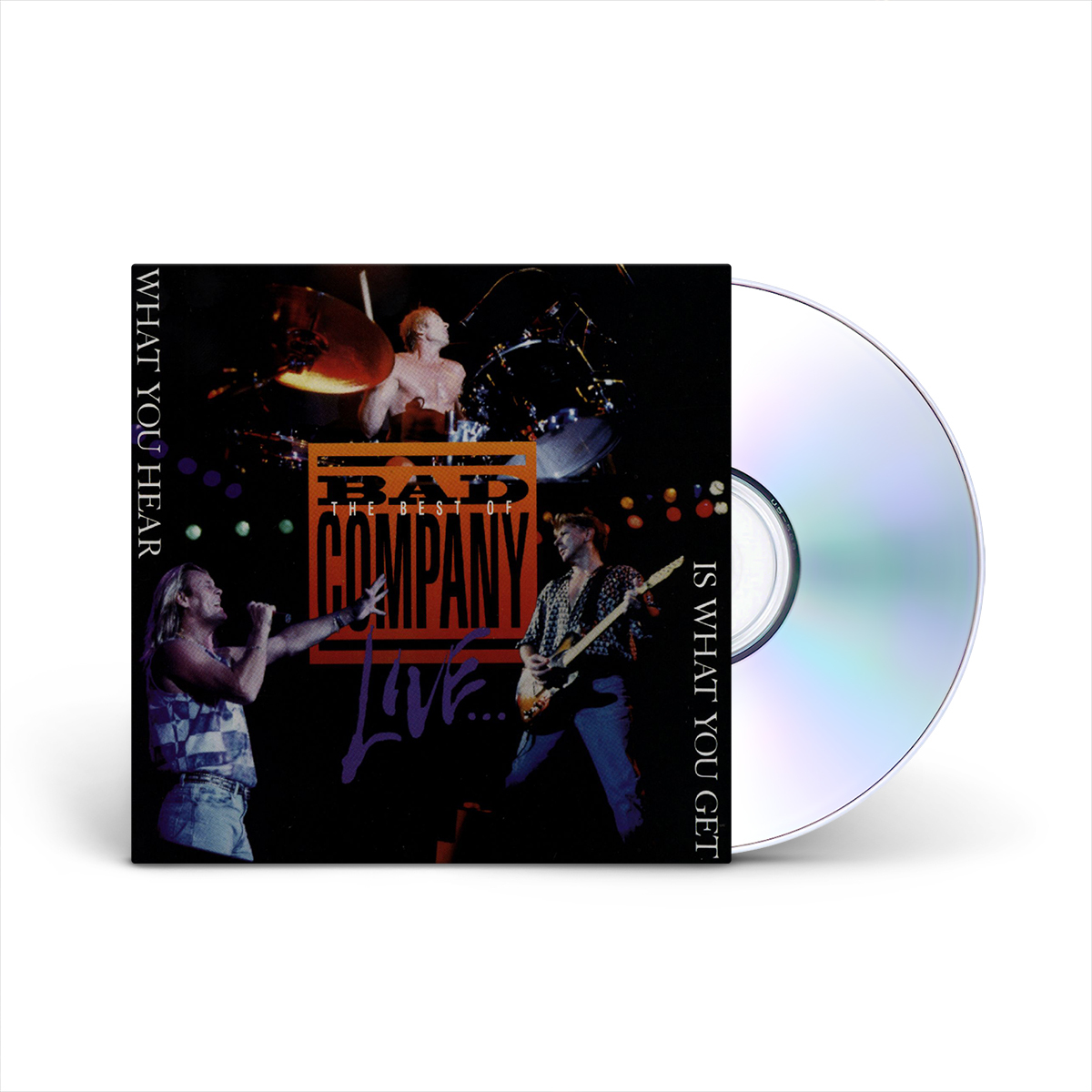 Live: What You Hear Is What You Get CD