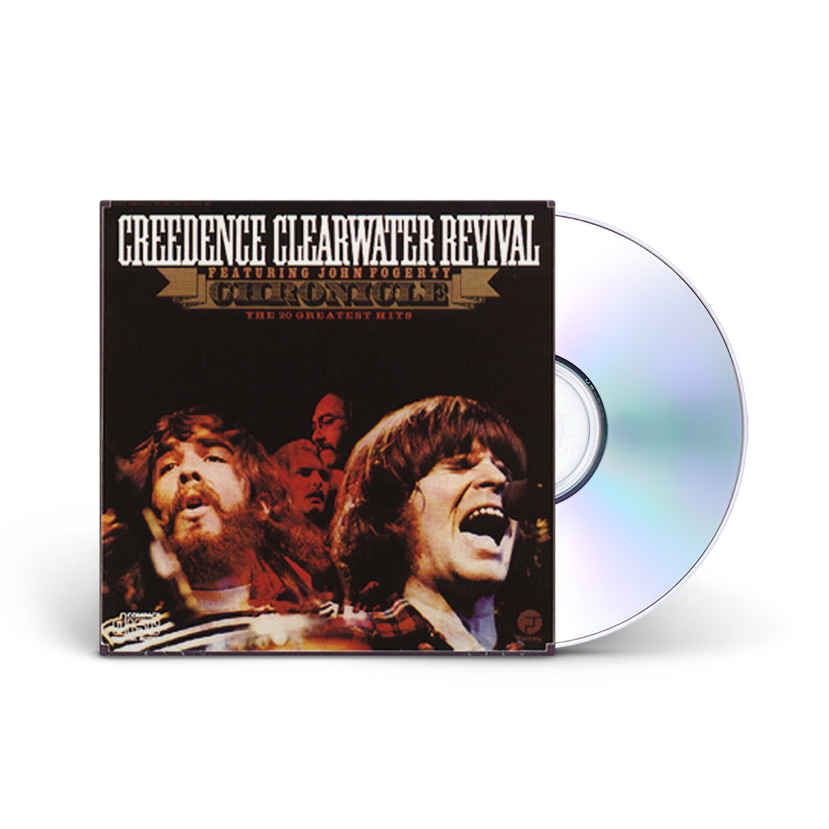 creedence clearwater revival chronicle 20 greatest hits cd shop the musictoday merchandise. Black Bedroom Furniture Sets. Home Design Ideas