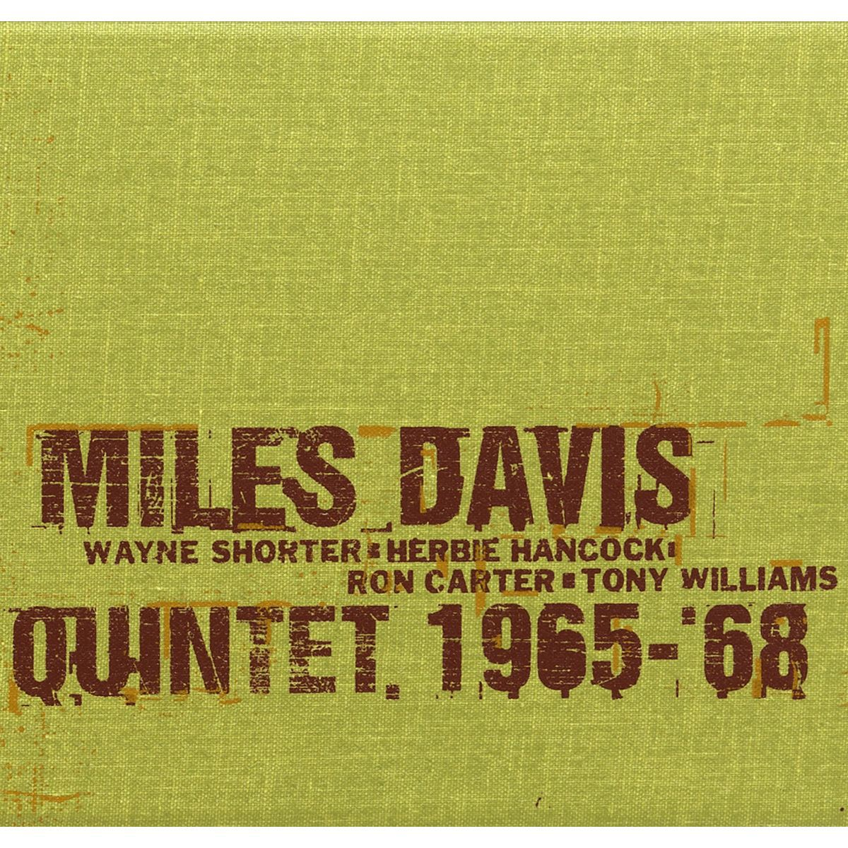 The Complete Columbia Studio Recordings Of The Miles Davis Quintet January 1965 To June 1968 (6-disc) CD