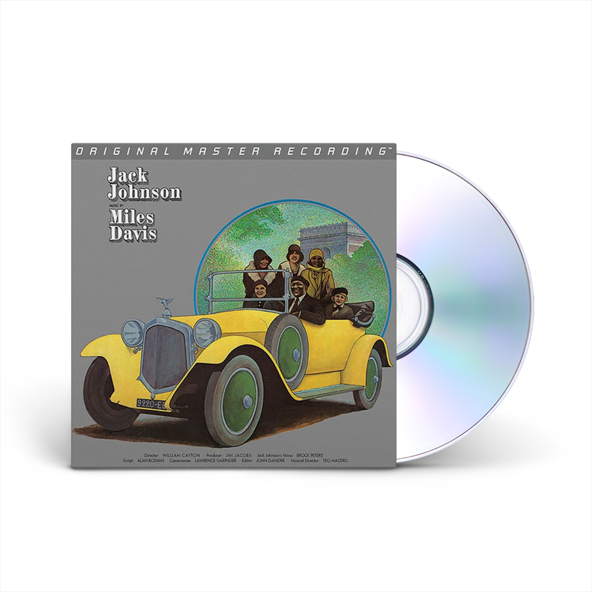 Miles Davis - A Tribute To Jack Johnson (Numbered Hybrid SACD)