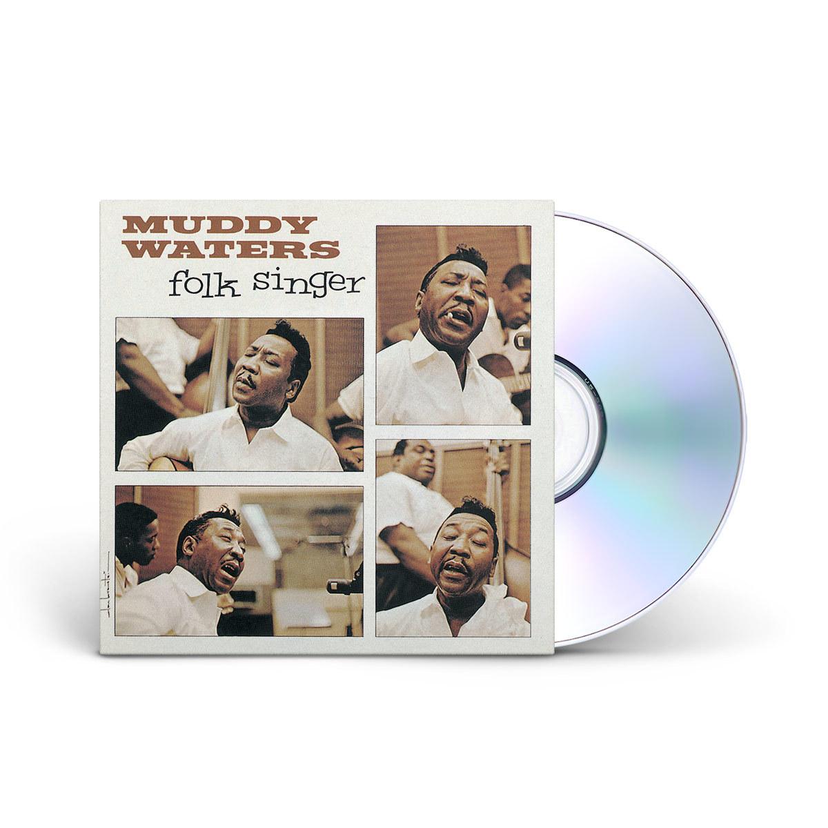 Muddy Waters -  The Folk Singer CD