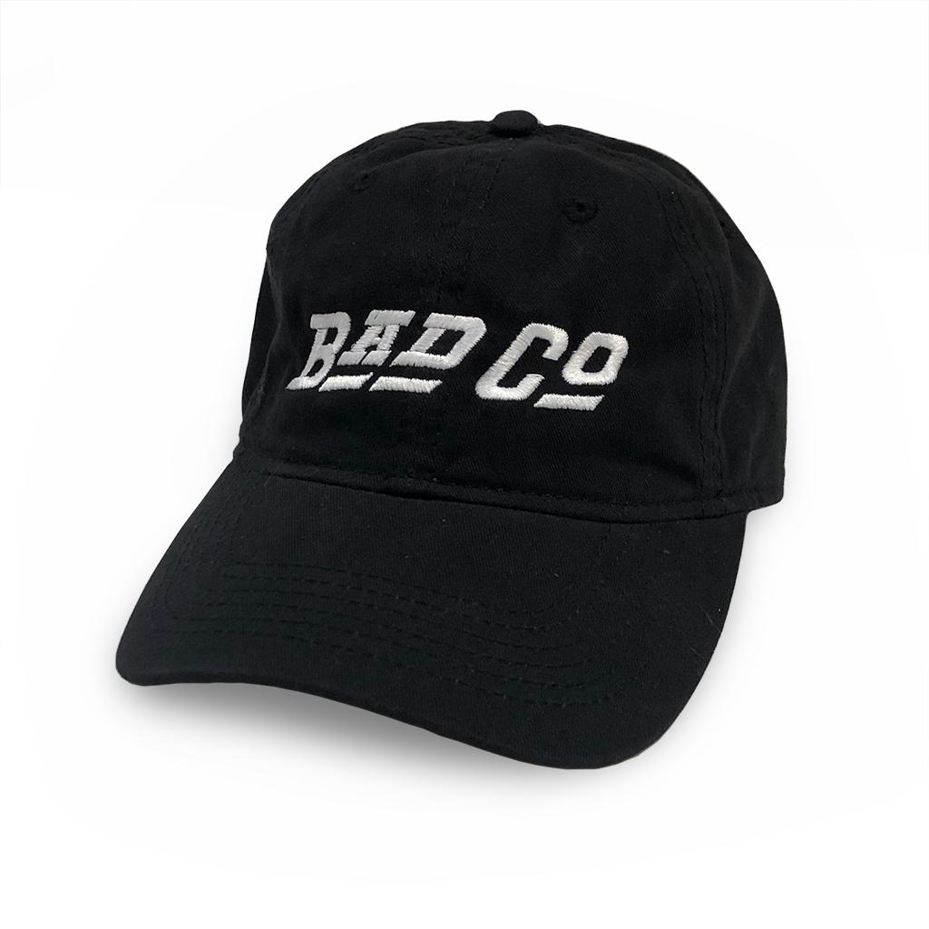 Bad Company Logo Unstructured Hat - Black