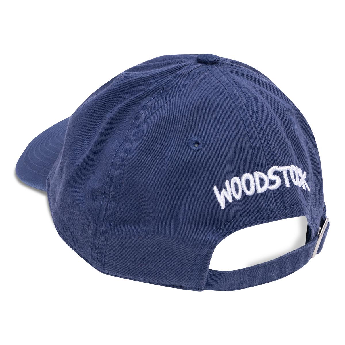 Woodstock 50th Anniversary Indigo Twill Cap