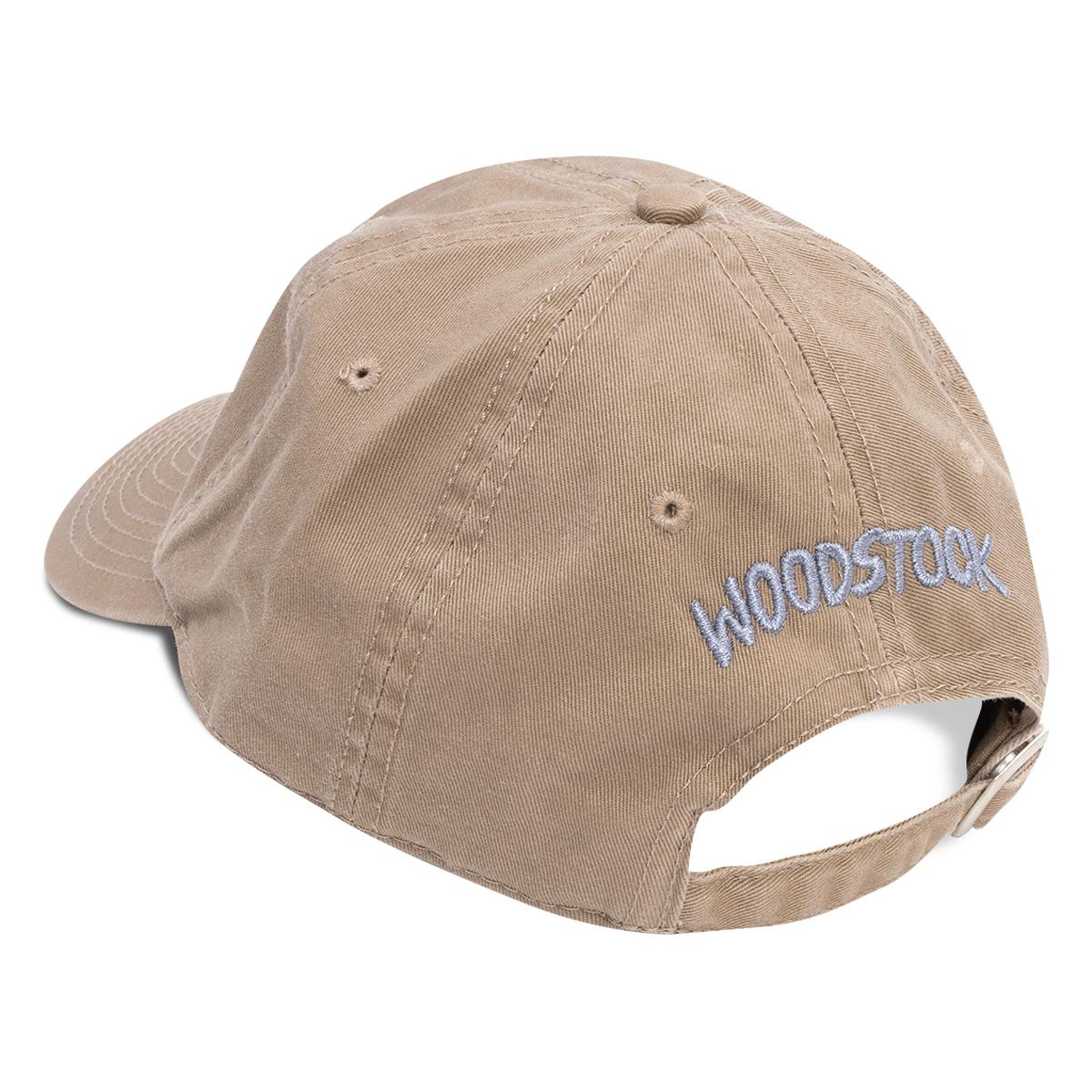 Woodstock 50th Anniversary Khaki Twill Cap