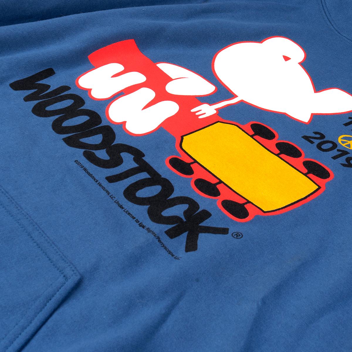 Woodstock 50th Anniversary Logo Hoodie