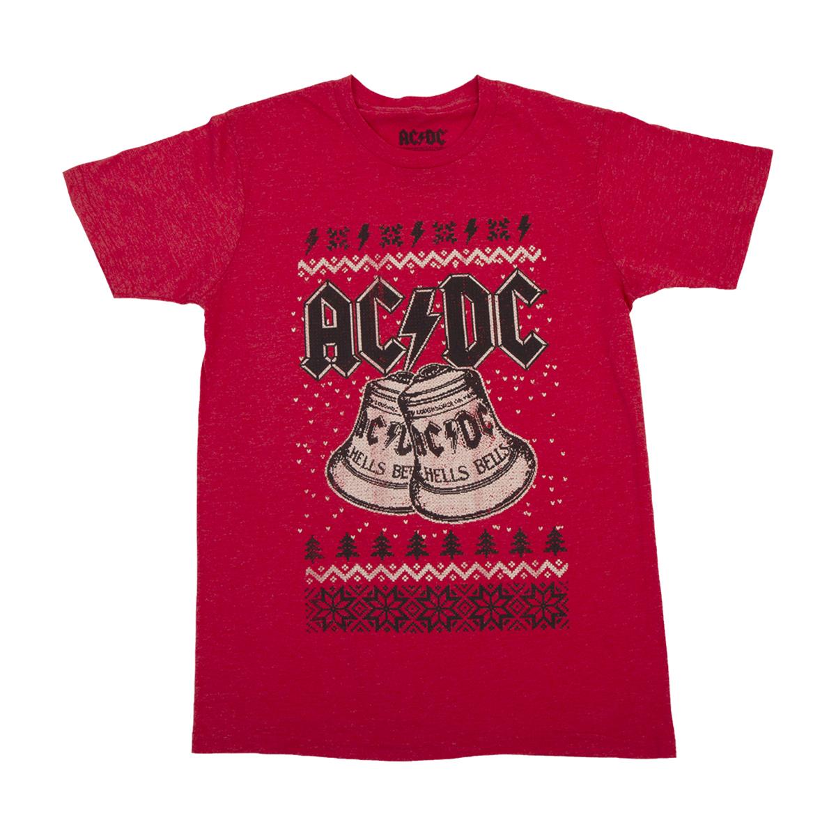 AC/DC Hells Bells Festive T-shirt