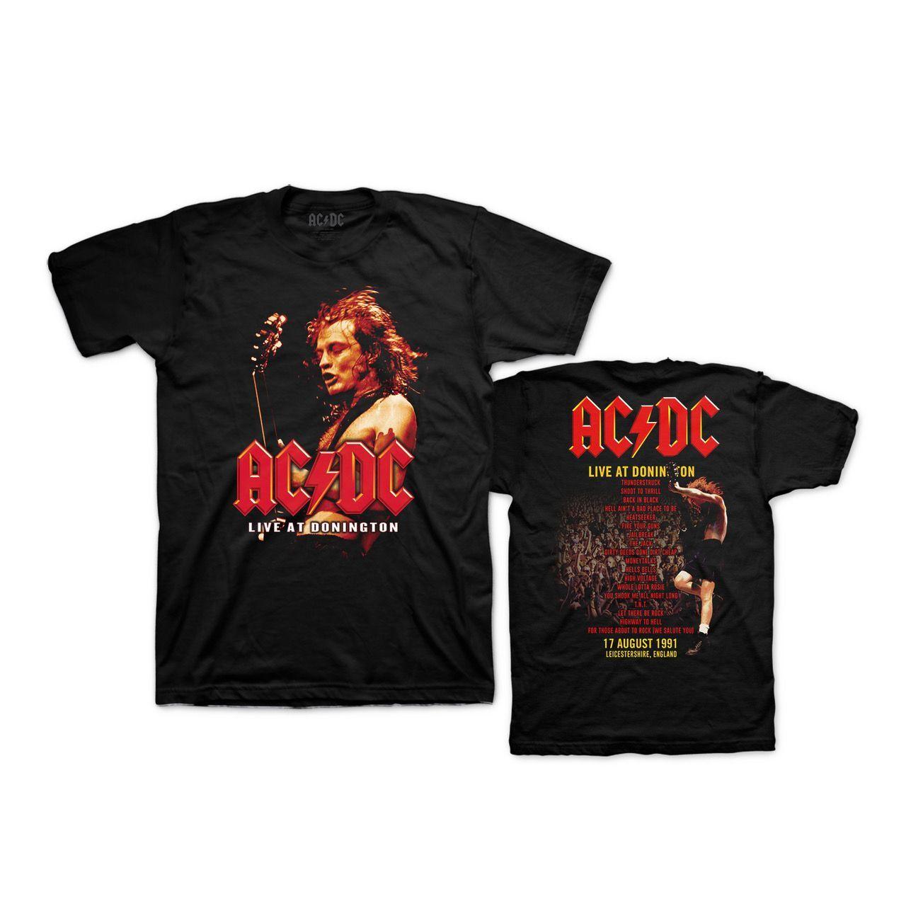 AC/DC Live at Donington T-Shirt
