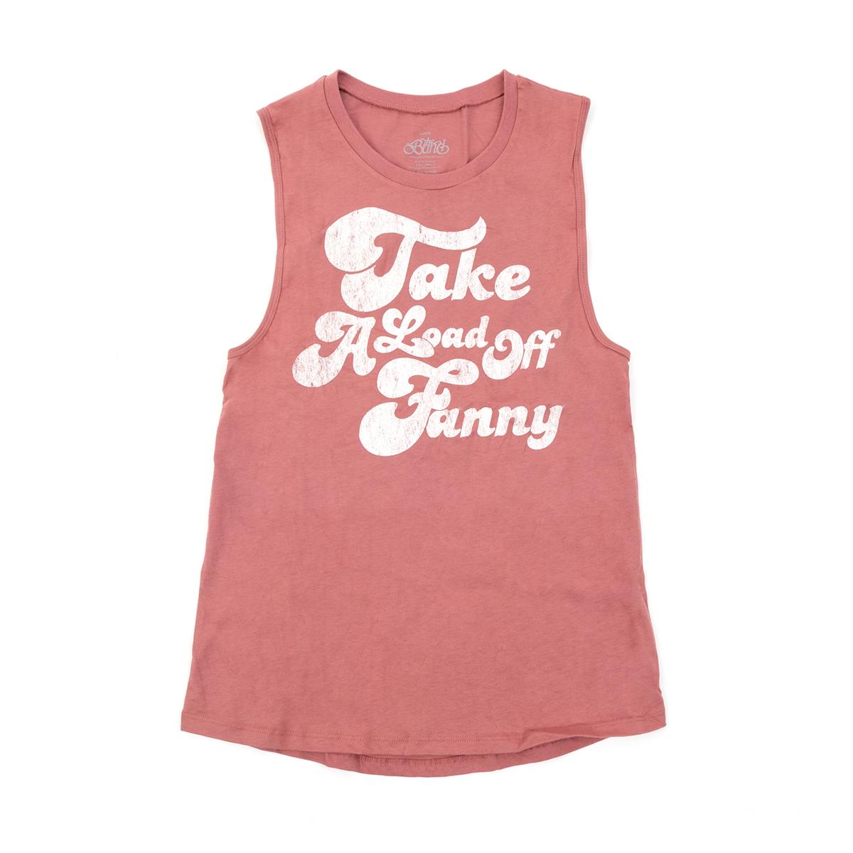 Take A Load Off Fanny Womens Tank