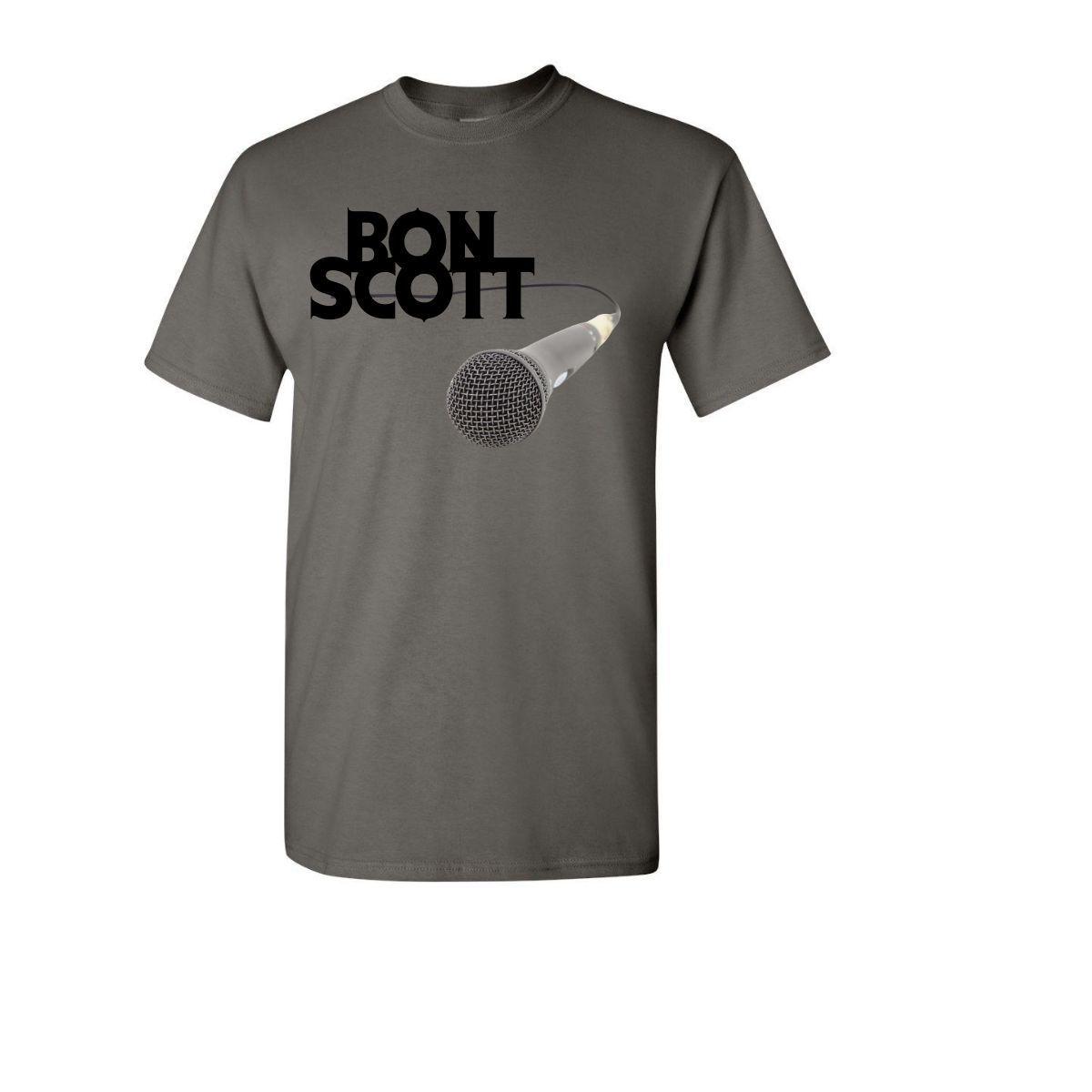 Mic Black Logo T-Shirt