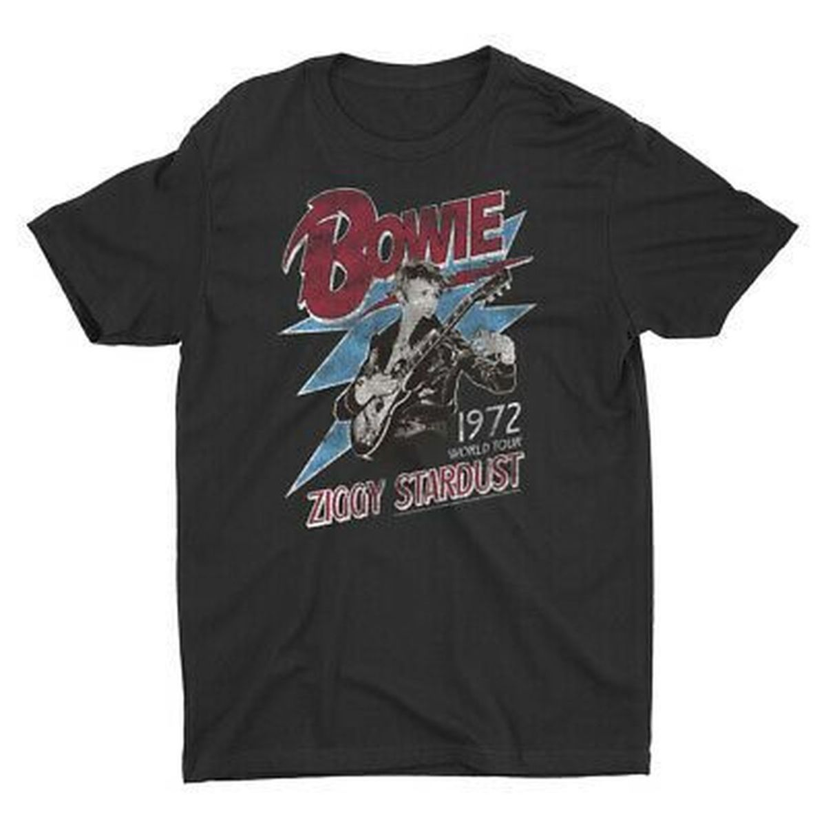 David Bowie Ziggy Stardust 1972 World Tour T-shirt