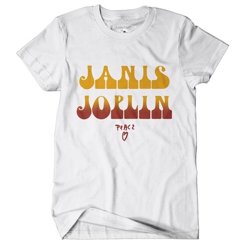 Hot Janis Joplin T-Shirt - Classic Heavy Cotton