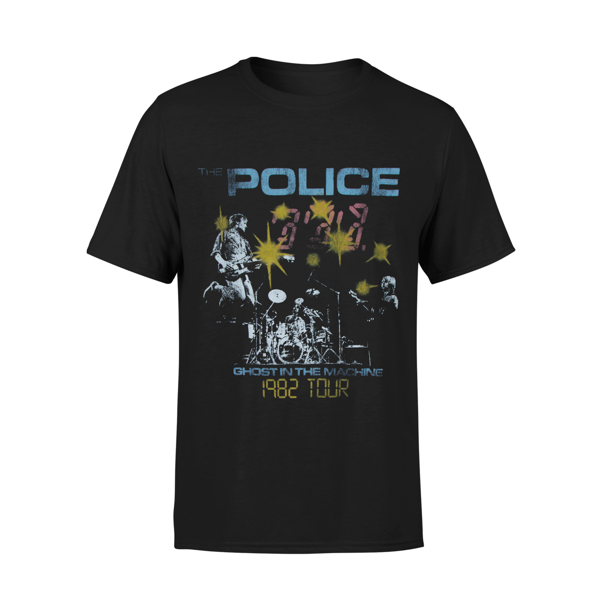 Ghost in the Machine 1982 Tour T-shirt