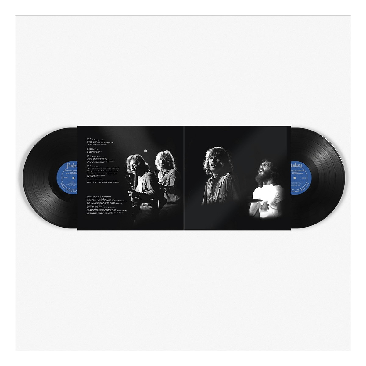 Creedence Clearwater Revival - Live at Woodstock (2 LP Set)