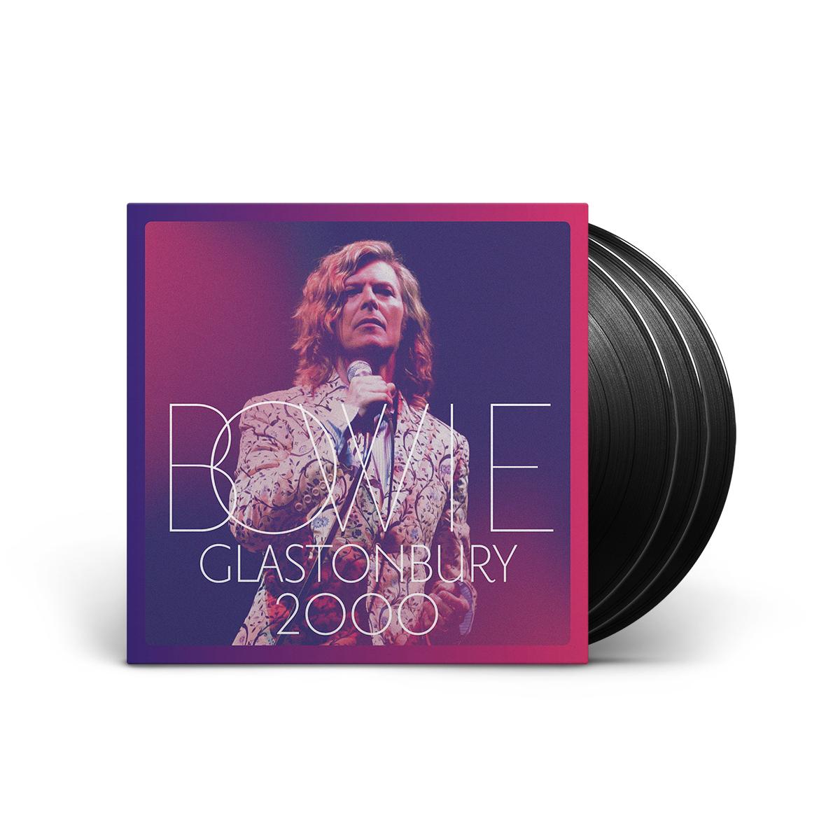 David Bowie - Glastonbury 2000 3 LP Set
