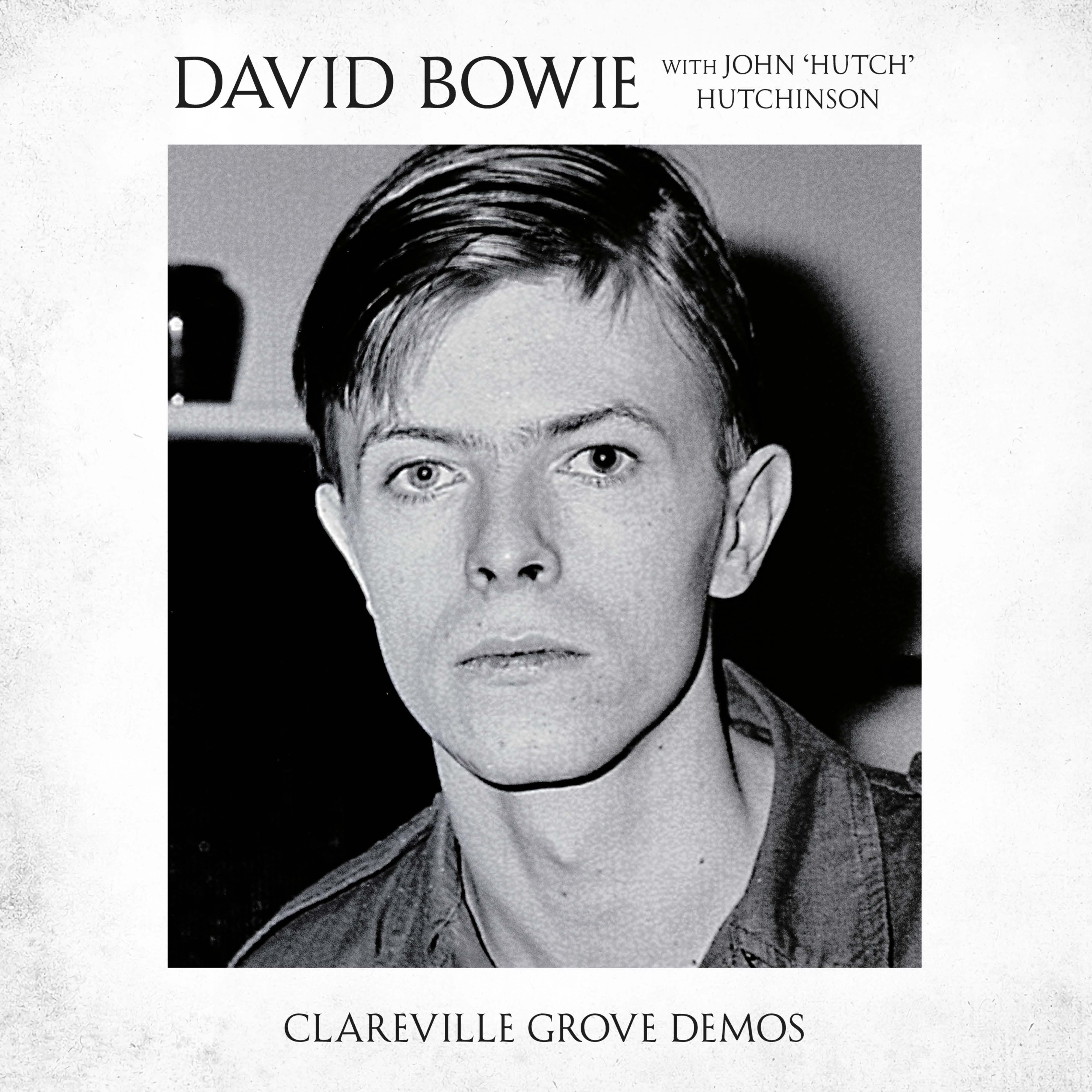 "David Bowie with John 'Hutch' Hutchinson Clareville Grove Demos 3x7"" Vinyl Singles Box Set"
