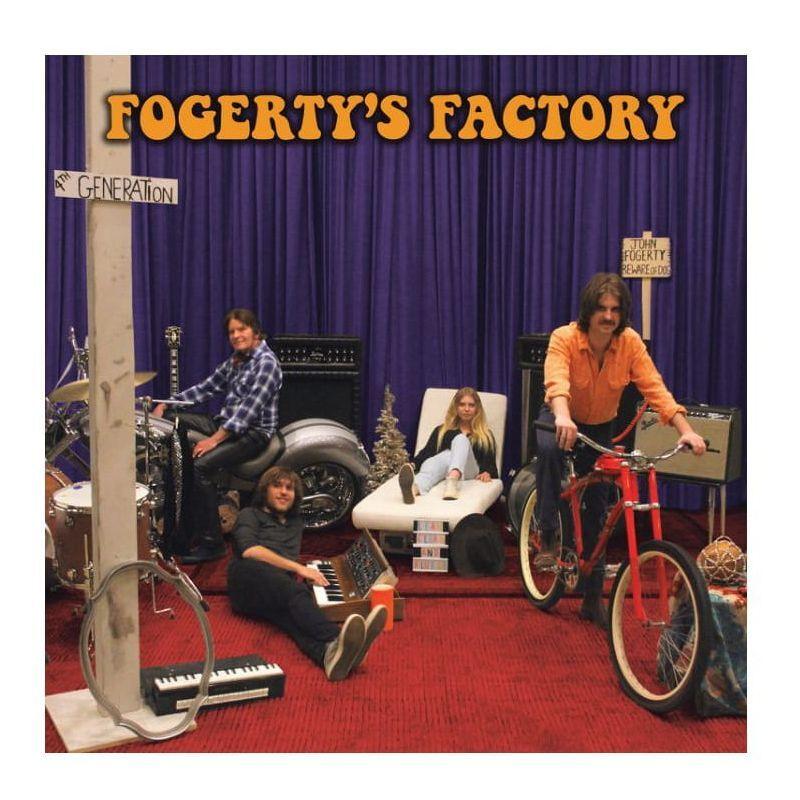 John Fogerty Fogerty's Factory LP