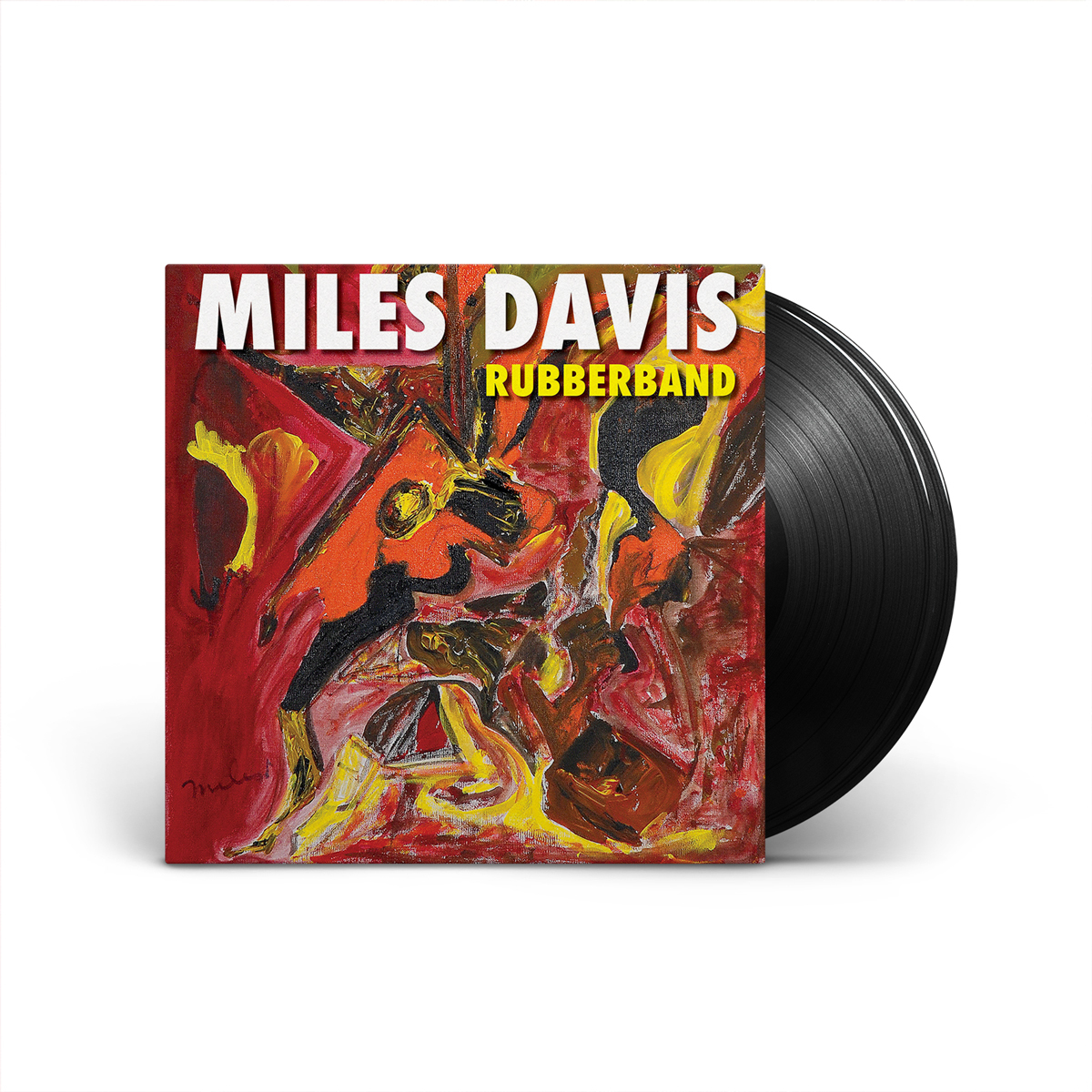 Miles Davis Rubberband (2-disc) LP