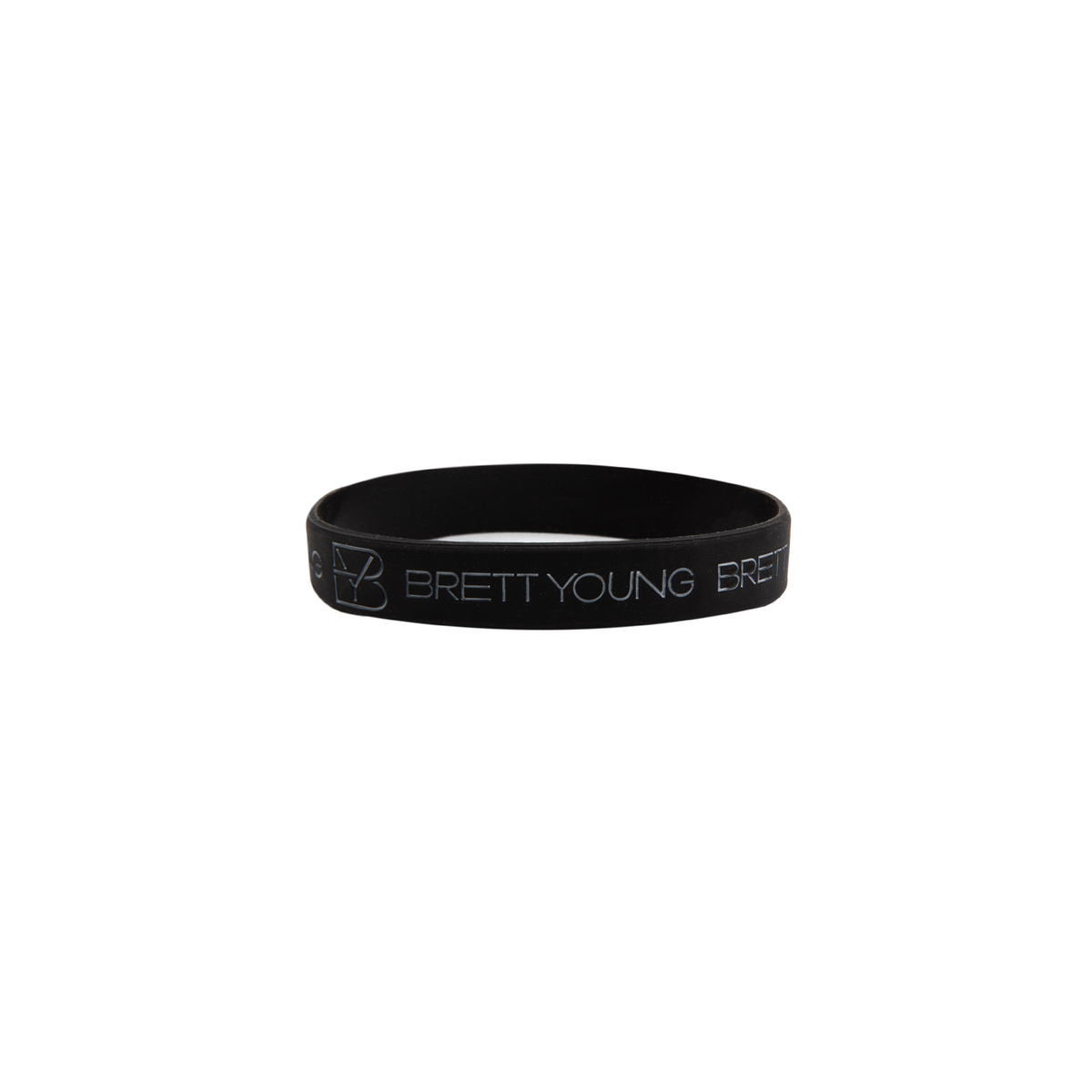 Brett Young Logo Wristband