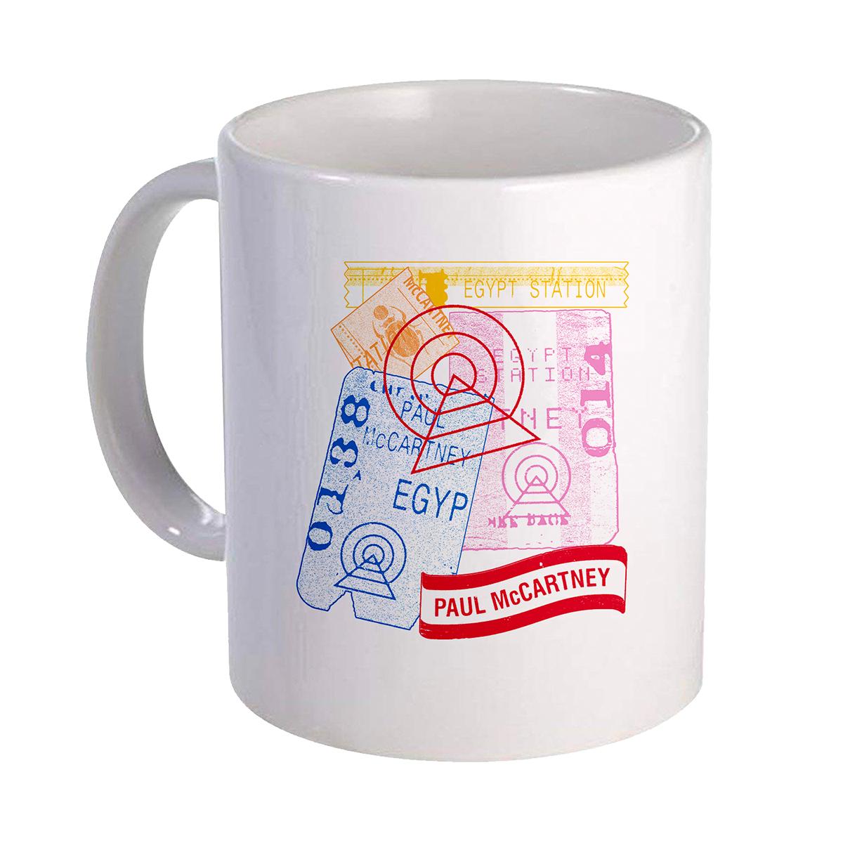 Egypt Postcard Mug