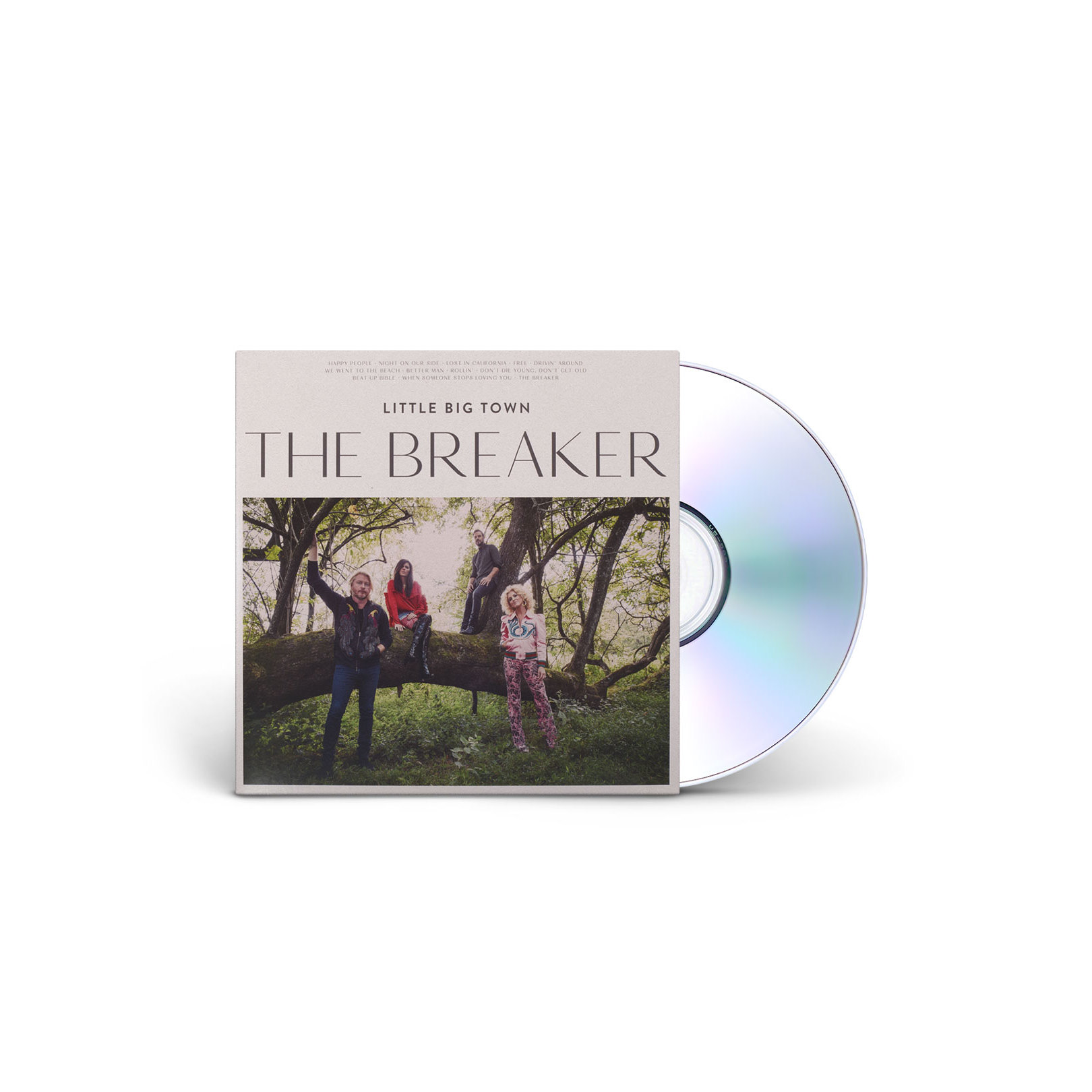 Little Big Town The Breaker CD
